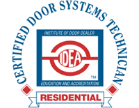 IDEA Certified Residential Door Systems Technician